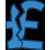 Broken pound symbol