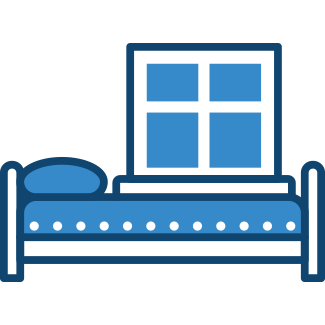 bed in hotel room – Hotels & Guesthouse Insurance