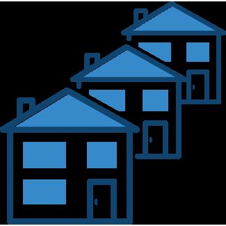 Several houses – landlord insurance